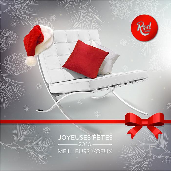 Red Zone Joyeuses fêtes Meilleurs voeux 2016